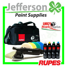 RUPES BIGFOOT LHR21 MARK II 21MM DELUXE KIT RANDOM ORBITAL POLISHER BUFF MARK 2