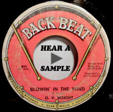 O.V. Wright  Love The Way You Love / Blowin In The Wind Back beat soul 45  HEAR!