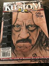 Pinstriping & Kustom Graphics Magazine February/March 2016 Airbrushing TATTOO...