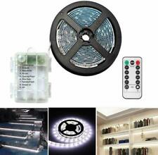 Battery Operated Led Strip Lights with Remote Controller,3M/9.8ft SMD Waterproof