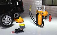 G LGB 1:24 Scale Modern Garage Accessories Tools Equipment Building Diorama Set