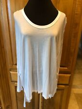 Womeńs SEN COLLECTION NWT White Dolman Sleeve Tunic/Top ONE SIZE $84.50