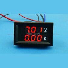 DC 100V/200A Ammeter Voltmeter Digital Dual display Amp Volt Meter 12V 24V R-R
