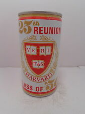 BLACK LABEL 25th REUNION HARVARD BEER CAN CLASS OF 1950 #216-15