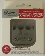 New Oster Blades for 76 #3.5 or 3 1/2 Clipper Blade 76918-146