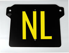 "Elektrische scooter kentekenplaathouder alle NIU M modellen Nederland: ""Typ-NL"""