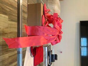 Christian Louboutin Foulard Cheville Pink heel sz 39