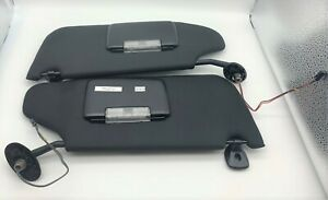 OEM 11-14 Chrysler 200 Sun Visor Left Right Illumination Mirror Homelink Pair