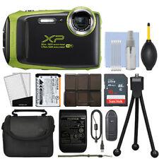 Fujifilm FinePix XP130 16.4MP Digital Camera Lime Full-HD + 16GB Kit