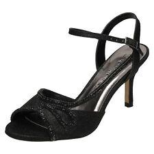 Ladies Anne Michelle Mid Heel F10579 Style K Black UK 5 Standard