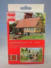 "HO Scale Busch 1020 Wire Mesh Fence Kit ""Gartenzaun"" NIB"