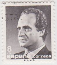 (SPA108) 1985 Spain 8p grey fine used ow2817