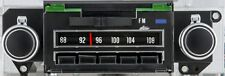 1969 Chevelle Camaro  AM/FM Stereo Radio Blue Light 69