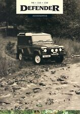 Land Rover Defender Accessories 1994-95 UK Market Sales Brochure