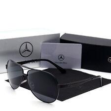Mercedes Benz 2017 polarised sunglasses men woman AMG brand new black