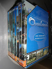 Opera Box 8 DVD Overland 10 World Truck Expedition for Como in Bejing in Bike