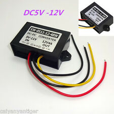 Boost Gauges 5V Set To 12V 3A 48W DC Power Converter Regulator Car Supply Module