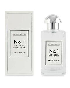 Aldi Hotel Collection-No. 1/Lime,Basil  & Mandarin-100ml EDP- New/boxed