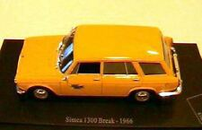 SIMCA 1300 BREAK LA POSTE PTT 1966 1/43 JAUNE UNIVERSAL HOBBIES EDITIONS ATLAS