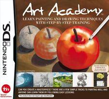 Nintendo DS jeu Art Academy caractères et maltechniken NOUVEAU & OVP NDS