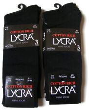 Calcetines de hombre negro color principal negro con algodón
