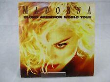Madonna Blonde Ambition Tour Japan 1990 Double LP SKALD Unofficial Release