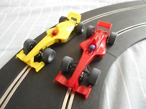 scalextric cars  f1 style cars    taken from a set & never used free postage