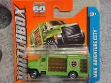 Camions miniatures verts Matchbox