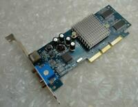 Genuine 64MB Nvidia GF4 MX440 PV-T16K-QTHG ATX VGA AGP Video Graphics Card