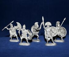 40 mm Metal Soldier Set - Greek Hoplites - 5 figures  EK Castings #kit40-08