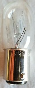 1x  Bulbrite Incandesent Appliance Light Bulb Lamp 15W T7 BA15D 120V NEW
