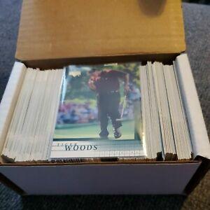 2001 Upper Deck Golf Premier Edition 200 Card Complete Set TIGER WOODS RC #1 +++