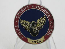 California Municipal Motorcycle Officers Police Highway Patrol challenge coin