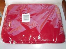 "Universal Red Padded Tablet e-Reader Storage Case Cover Up to 10"" NEW"