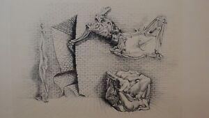 """Hans Bellmer, Souterrain fine art print 26"""" x 20"""""""