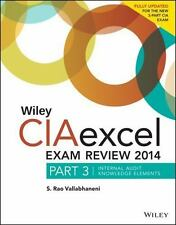 Wiley CIAexcel Exam Review 2014: Part 3, Internal Audit Knowledge-ExLibrary