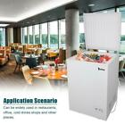 ZOKOP Portable 3.5cu.ft/5.0cu.ft  Compact Mini Upright Chest Freezer White photo