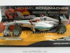Mercedes F1 Showcar 2012 Michael Schumacher Special Ed 1:43 MINICHAMPS 413120177