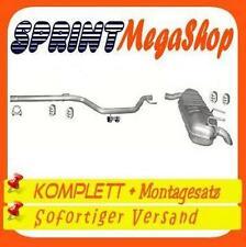 Opel Signum 1.9 CDTi 74/88/110 KW 2003-2008 Auspuff Auspuffanlage Endtopf 0252