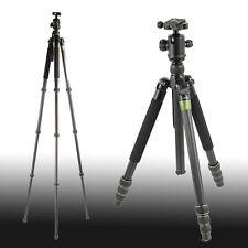 SYS500C Pro 8× Carbon Fiber DSLR Camera Tripod Monopod 15KG Heavy Duty Ballhead