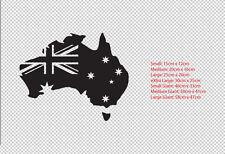 Australia Flag Map Car Aussie Sticker Decal Boat Ute Truck