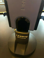 Cisco-Linksys WUSB300N Wireless-N USB Network Adapter with base