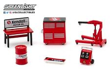 1:64 GreenLight *HOBBY EXCLUSIVE* KENDALL OIL THEMED 6pc TOOL ACCESSORY PACK NIP