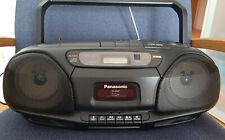 Tragbarer Panasonic Radio/CD Recorder RX-DS22