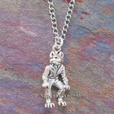 .925 sterling silver WEREWOLF 3D solid Charm Wolf Man Pendant & Necklace