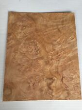 Oak Burr Veneer - NATURAL WOOD Sheet - 200mm x 160mm (7.8 x 6.3 inches)