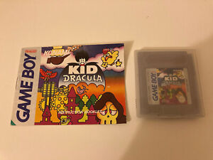 Kid Dracula with Manual Nintendo Gameboy