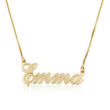 Personalized Name Necklace Gold Plated Or Sterling Silver Customize Any Name
