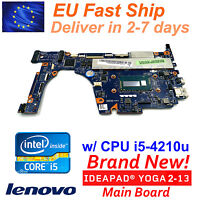 Lenovo YOGA 2 13 Intel CPU i5-4210U 20344 ZIVY0 LA-A921P Laptop Motherboard