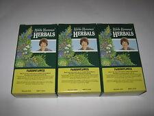 3 x 50g HILDE HEMMES HERBALS Passionflower Herb (150g) Traditional Herbal Tea